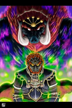 Beast Ganon by Pdubbsquared