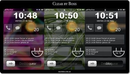 iToday Theme - Clear by Boss by Macfree