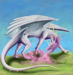 Beatific Dragon by kovah