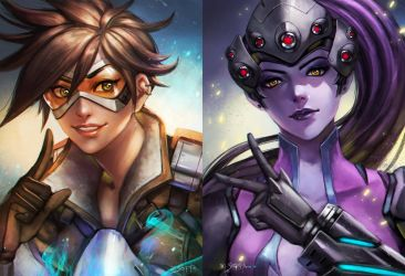 overwatch duo by manusia-no-31