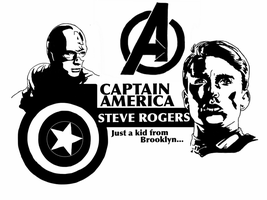 Avengers - Steve Rogers by Mr-Saxon