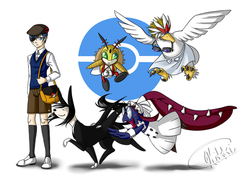Trainer Phantomhive Line-Up by snickerdoots