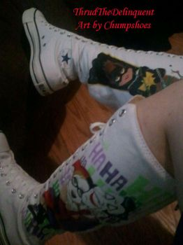 MY NEW SHOESSS! 2 by ThrudtheDelinquent