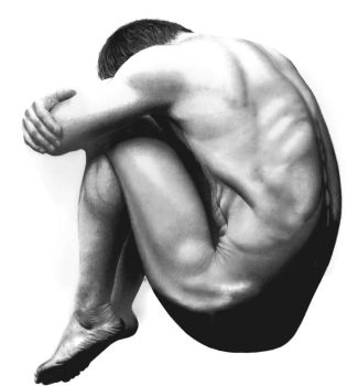 Male Bodyscape Drawing No. 4 by Paul-Shanghai
