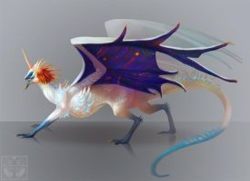 Noname dragon by Neboveria