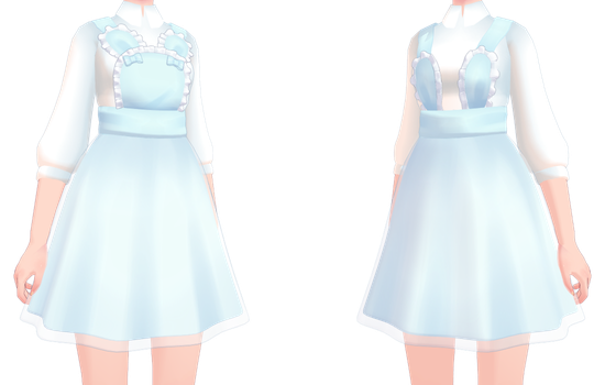 3d mmd bunny alice loves to squat 3