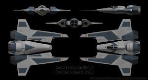 Mandalorian Fang Fighter Schematics 01 by Ravendeviant