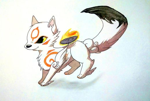Amaterasu: speedpaint by katzuka88