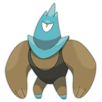 Muscullar, Buff Star Fakemon by Smiley-Fakemon