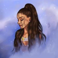 Moonlight - Ariana Grande  by miloutjexdrawing