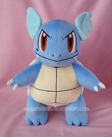 Pokemon: Wartortle by sugarstitch