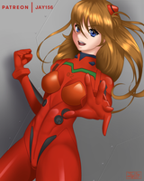 Asuka Langley by jay156