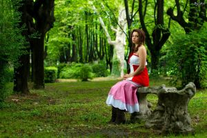 Aerith - Will you come back? by Achico-Xion