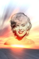 Marilyn Sunset by HaroldWood