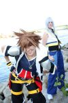 Kingdom Hearts II - RikuxSora by Evil-Uke-Sora