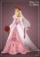 Aurora - Disney Wedding Princess designer by GFantasy92