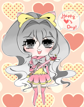 Happy V-day! by ribboncouture