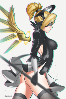 YoRHa Mercy by velladonna
