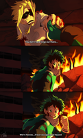 Boku no Hero Academia - Calm before the storm by TC-96