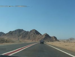 Mountains of Sinai by Magdyas