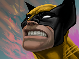 wolverine quick paint by hamdiggy
