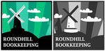 Logo Designs - Roundhill Bookkeeping by quixoticduck