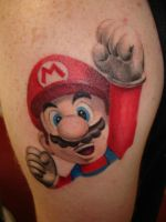 Mario by Christopherallenism