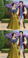 Snow White and Prince Florian by TFfan234