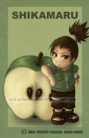 Chibi Fruit Ninja Shikamaru by Red-Priest-Usada