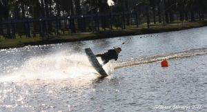 Cable Water Skiing #4 by Oksana007