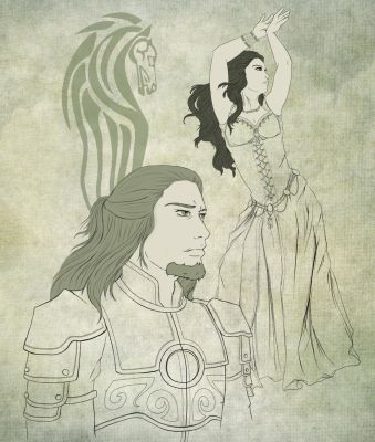 The prince and the dancer by IrethMinllatur