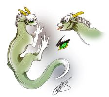 Demi Concept Art- My Ancient Dragon History Thesis by OpalAcorn