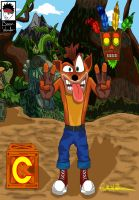 Crash Bandicoot fanart by Boy-Wonder-Arts