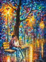 Happiness by Leonid Afremov by Leonidafremov