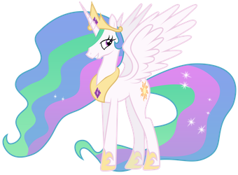 Princess Celestia by Brony-Works