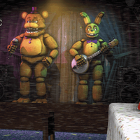 A Day at Fredbear's Family Diner by CynfulEntity