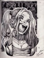 Suicide Squad: Harley Quinn 08-08-2016 by steampunkj90