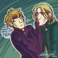 Your breath smells like frog by Papercutzz