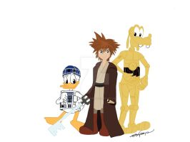 Star Wars Kingdom Hearts by KateyECooper