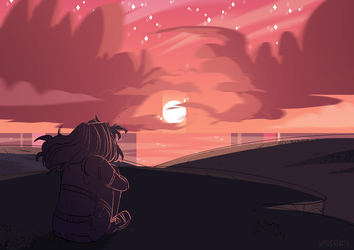 Lonely Up Here by spidertam