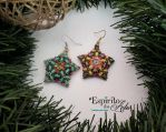 Blooming Star Earrings by OEspiritodasArtes
