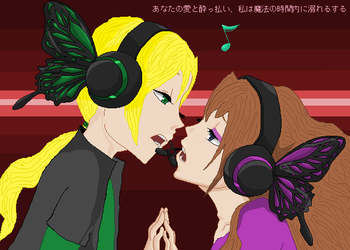 Magnet 2 +Eve and Julian+ by sanjis-bride