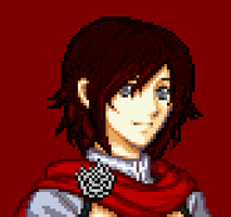 Volume 4 Ruby Rose pixel by Ronku