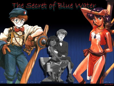 Nadia Blue Water Wallpaper by night-wolf23