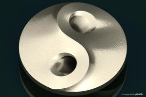 Yin-Yang Button by JeremyMallin