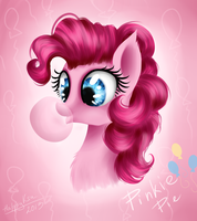 Pinkie Pie by HappyKsu