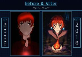 Cyr's Craft -Before and After- by Razeal99