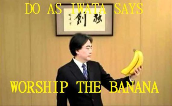 Iwata and his Bananas by MicoNutziri