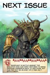 Dalrak the Mighty #2 Preview by Shono