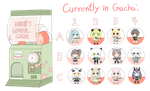 (Open!)waruuii's 300 points/$3 gachapon! by waruuii